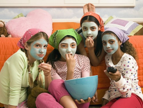 Mud masks for kids